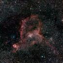 The Heart Nebula - IC 1805,                                Steven E Labkoff