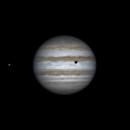 Io, Jupiter and shadow of Callisto (26 feb 2015, 21:16),                                Star Hunter