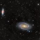 Bodes (M81) and Cigar Galaxy (M82),                                Wirrkopf