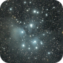 Pleiades | Seven Sisters| through my telescope William Optics RedCat 51,                                Ray's Astrophotography