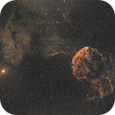 IC443 jellyfish of 35 minutes exposure,                                hectorbdn