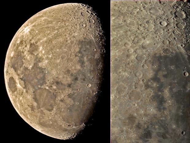 Earth's Moon,                                Vijay Vaidyanathan