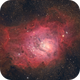 Messier 8 - Lagoon Nebula,                                Michael S.