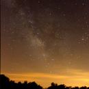 Milky Way Rising over Observatory,                                Jonathan Rupert