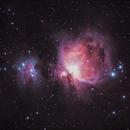 Nebulosa de Orion y del Corredor (M42 y NGC 1977),                                Chesco Carbonell