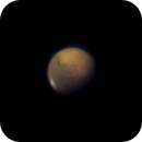 My first planetary image ever....Mars,                                Christoph Lichtblau