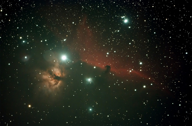 IC434 - 80ED+350D,                                bluerain1426