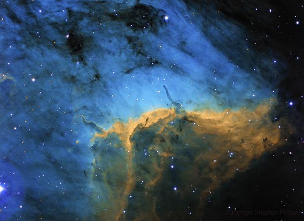 IC 5070 - Pelican Nebula (SHO),                                Stephen Porter