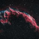 Eastern Veil Nebula in HOO,                                Muhammad Ali