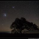 The Magellanic Clouds in Wheatbelt WA,                                Roger Groom