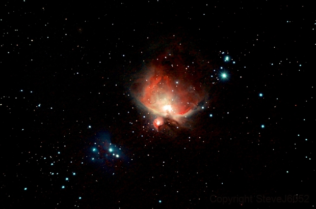 Orion Nebula,                                SteveJ6052