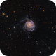 M101 Pinwheel Galaxy,                    Davide Manca