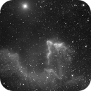IC63 (The Ghost of Cassiopeia) - a deeper view in h-alpha,                                HaSeSky