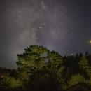Moon Venus Saturn Conjuntion,                                Tom Robbe