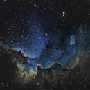 NGC 7380 The Wizard Nebula,                                brad_burgess