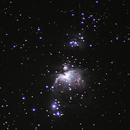 Orion nebula M42,                                Oliver