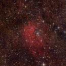 Sh 2-86 and NGC 6820 / 6823,                                Jenafan