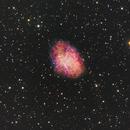 M1 - LRGB (old data reprocessed),                                Rodolphe Goldsztejn