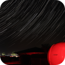 Star Trails in Brittany Observatory,                                rémi delalande