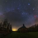 Pano winter Milky Way,                                Łukasz Żak
