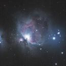 M42 - The Great Orion Nebula,                                Pushkaraj Naringrekar
