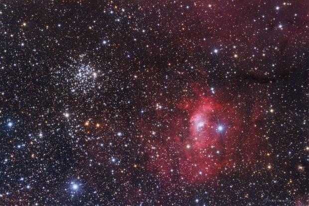 Messier 52 - MGC7635,                                Péter Feltóti