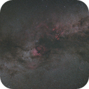 Cygnus - single frame at 50mm f/1.4,                                Kamil Pękala