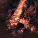 M17-Ha-RVB-image by Liverpool Telescope,                                Adel Kildeev