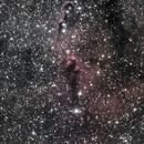 Elephant's Trunk Nebula in Cévennes,                                rémi delalande