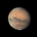 Mars rotation time lapse,                                Kevin Parker