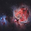 Orion Nebula and Running Man Nebula,                                Dan Gallo
