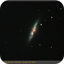 M82 with Supernova,                                bclary