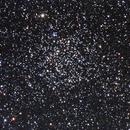 NGC 7789, Caroline's Rose, LRGB, 86% waning moon,                                turfpit