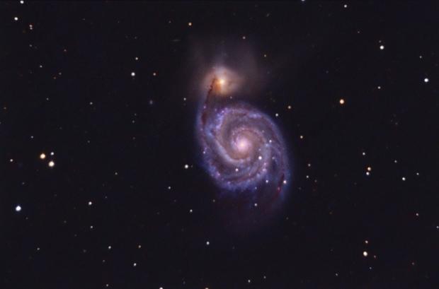M51 unguided.,                                Juan Pablo (Obser...
