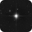 Mirach's Ghost (NGC 404),                                apricot
