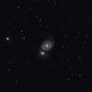 М51 The Whirlpool Galaxy,                                TheDog