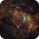Bubble Nebula (NGC 7635) in Hubble Palette,                                  Brian Poole