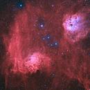 IC 405 & IC 410,                                Pleiades Astropho...