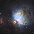 New Orion hubble palette,                                Mirk