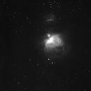 M42 in H alpha,                                Nigel Beaumont