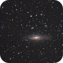 NGC 7331: ZWO 071MC Pro + 183MC uncooled combined data,                                Marlon