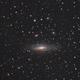 NGC 7331: ZWO 071MC Pro + 183MC uncooled combined data,                                Marlon