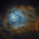 M8 - Lagoon Nebula in SHO,                                  Ariel Cappelletti