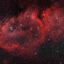 Soul Nebula in HOO,                                Daniel Hightower