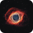NGC 7293 - Helix Nebula (Bicolor),                                  Frank Breslawski
