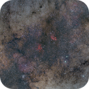 Tail of SCO - Cat's Paw and Lobster Nebula,                                Astro-Wene