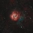 M20 The Triffid Nebula,                                Nick Axaris