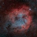 Trunk Nebula Ha O3,                                  John