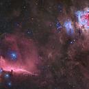 Orion's  most famous nebulae,                                Nicolas Kizilian