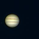 Jupiter and its moons Io, Europa and Ganymede-Meade triplet-Barlowx2.5-Celestron NexImage 5,                                Adel Kildeev